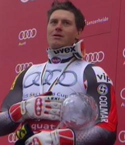 Ivica Kostelic gewann 2011/12 die kleine Kugel für die Super Kombination