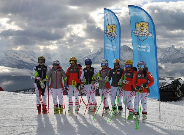 Die ÖSV-Stars finden in Mayrhofen perfekte Bedingungen vor.  (Bild: Bergbahnen Mayrhofen)