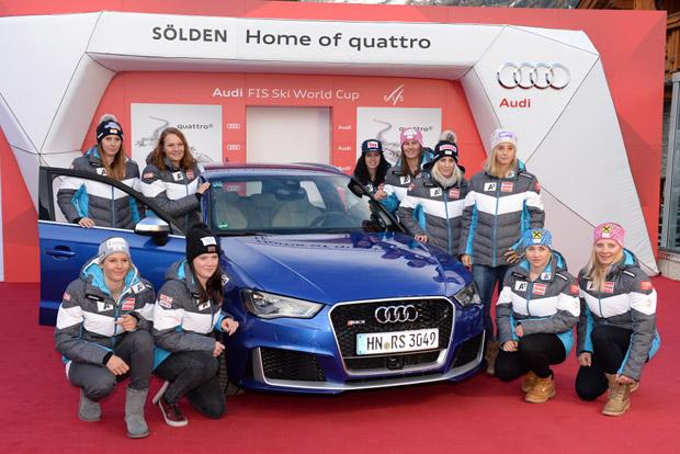 © Ch. Einecke (CEPIX) / Neue Gesichter beim Saisonauftakt: ÖSV Ski-Rookies wollen Gas geben