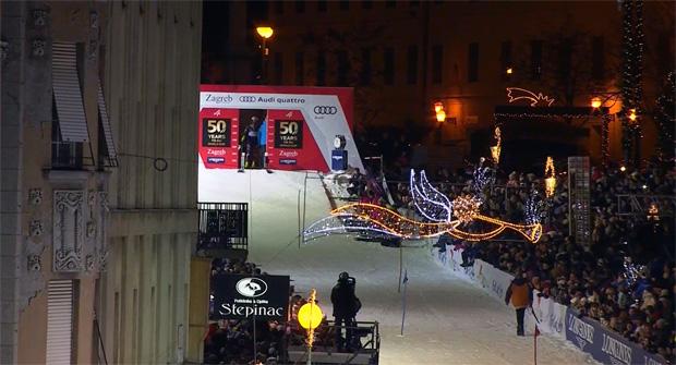 In der kroatischen Hauptstadt Zagreb wurde der 50. Geburtstag des Ski-Weltcups gefeiert.