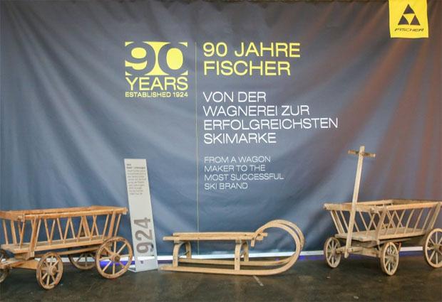 © fischersports / Firmenjubiläum: 90 Jahre Technologie von Fischer