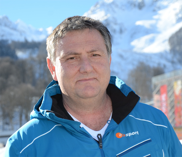 """© ZDF-Thomas Henninger / ZDF-Sportjournalist Aris Donzelli im skiweltcup.tv-Interview: """"Ich kann Lindsey Vonns Emotionen verstehen!"""""""