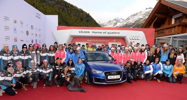 © Ch. Einecke (CEPIX) / Treffen der Athleten beim traditionellen Audi Media Talk
