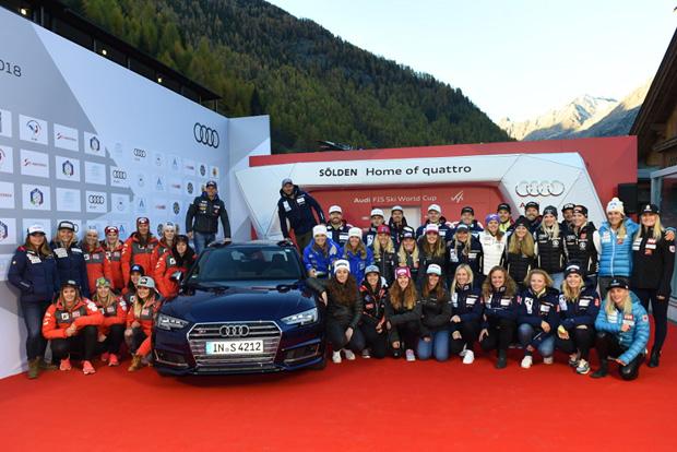 © Ch. Einecke (CEPIX) / Audi erneuert Partnerschaft mit FIS Ski Weltcup