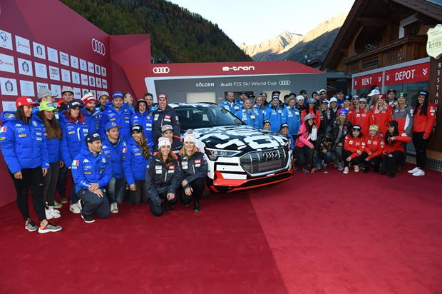 © Ch. Einecke (CEPIX) / Audi Media Talk: Präsentation der Teams vor dem Skiweltcup-Auftakt