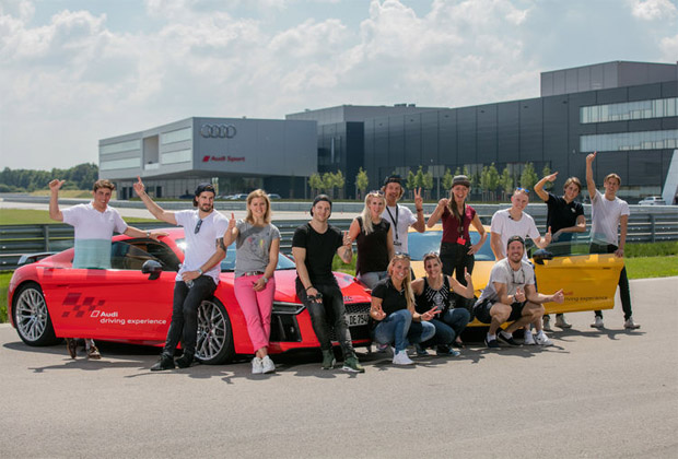 © 2016 by AUDI AG / Internationale Ski-Elite trifft sich zur Audi driving experience