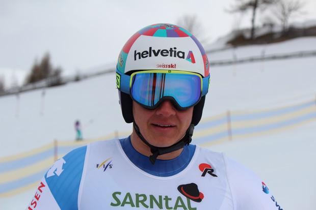 Gian Luca Barandun gewinnt EC-Super-G in Reinswald (Foto: Hannes Kröss)