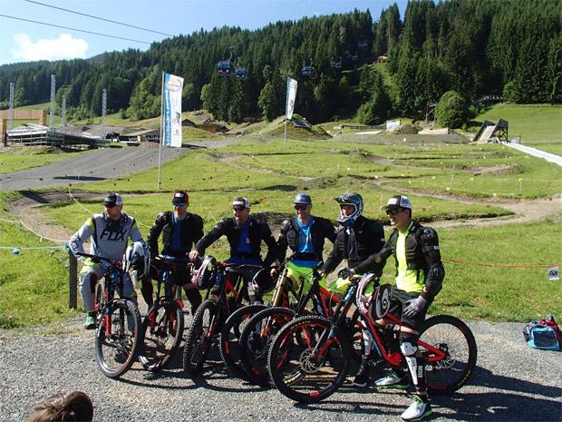© BikePark Leogang / ÖSV Speed-Herren starten gemeinsam in den WM-Winter 2016/17