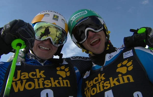 Jens Byggmark und Felix Neureuther