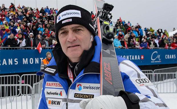 Swiss-Ski Direktor Stéphane Cattin freut sich über positive Entwicklung  (Foto: Swiss-Ski.ch)