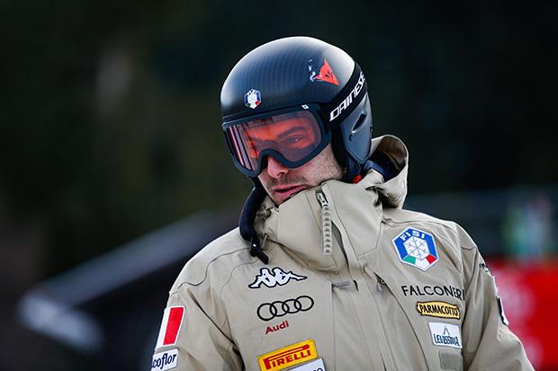 Davide Cazzaniga gewinnt die 2. Europacupabfahrt in Wengen (Foto: © Archivio FISI/ Gabriele Facciotti/Pentaphoto)