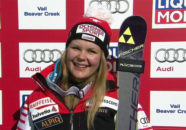 Die Ski-WM in Vail/Beaver Creek war für Charlotte Chable ein ganz besonderes Ereignis.