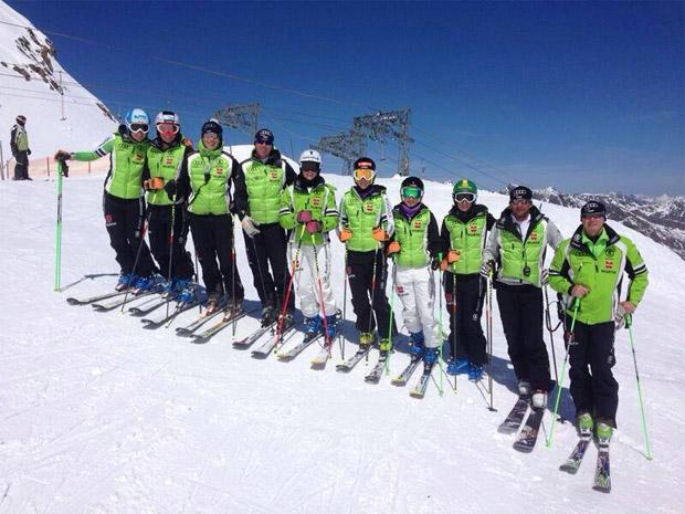 © DSV / Erster Schneekurs im Kaunertal mit dem neuen Damen-Weltcupteam!