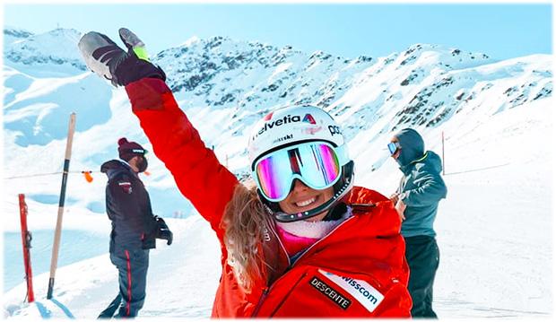 Aline Danioth träumt vom Gewinn einer Kristallkugel (Foto: © Aline Danioth / Facebook)