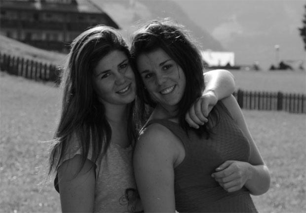 Die Schwestern Nadia und Nicol Delago (Foto: Nicol Delago)