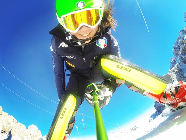 """Nicol Delago: """"Ich möchte einfach Spaß haben und gut Skifahren."""" (Foto: Nicol Delago / privat)"""