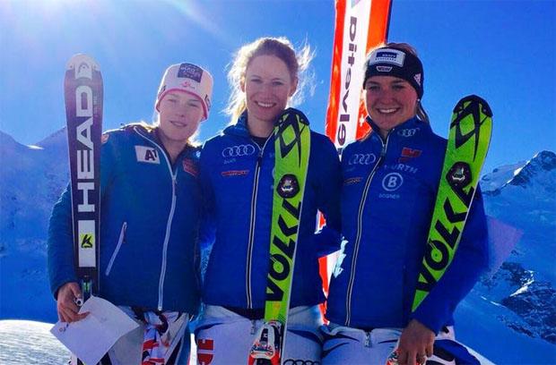 Lena Dürr gewinnt FIS Slalom auf der Diavolezza (Foto: Facebook / Barbara Wirth)