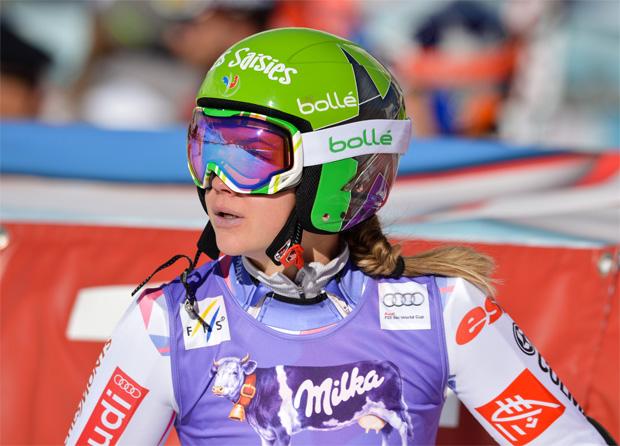 © Kraft Foods / Sieg für Clara Direz beim EC-Riesentorlauf in Kvitfjell