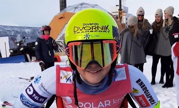 Slowenisches Skitalent Neja Dvornik im Konzert der Großen mitspielen (Foto: © Neja Dvornik / instagram)