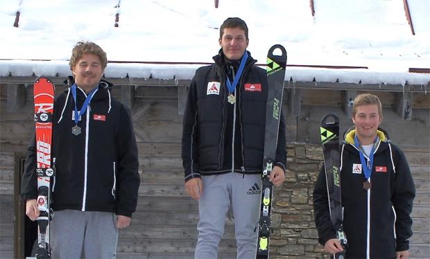 Hansi Schwaiger gewinnt Slalom in Cardrona (Foto credit: Guenther Birgmann/TCRA)