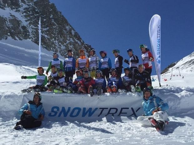 © Deutscher Skiverband / Vom 17. bis zum 19. April trainierten die jeweils sechs besten deutschen Schülerinnen und Schüler, sowie die beste Schülermannschaft der zurückliegenden Wettkampfsaison im österreichischen Ötztal mit Skistar Felix Neureuther.