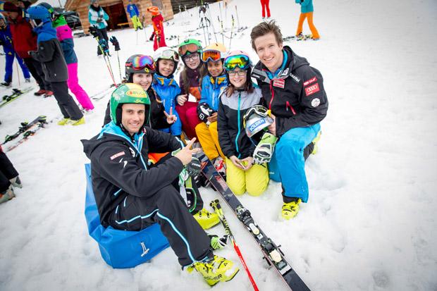 Fischer Sports mobilisiert Kinder und Jugendliche beim 1. Fischer Rookie Day (Fotocredit: Fischer Sports/GEPA)
