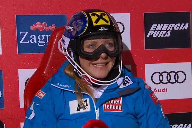 Kann sich über Rang sechs in Zagreb freuen: Katharina Gallhuber.