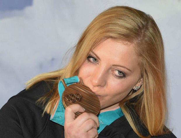 Kathi Gallhuber gewann bei den Olympischen Winterspielen in PyeongChang die Slalom Bronzemedaille (Foto: Kathi Gallhuber / privat)