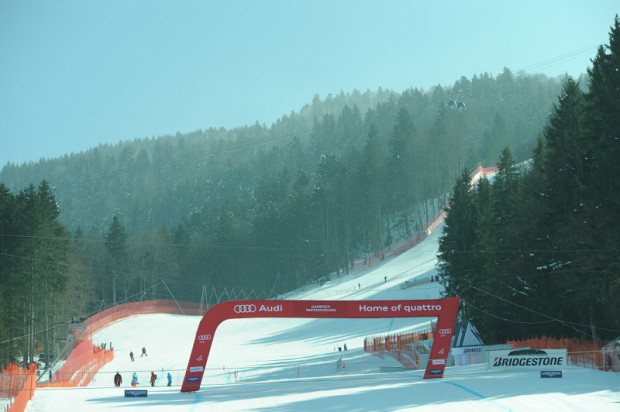 © Ch. Einecke (CEPIX) / LIVE: 1. Abfahrtstraining der Herren in Garmisch-Partenkirchen - Vorbericht, Startliste und Liveticker