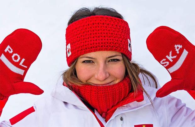 Polin Maryna Gasienica-Daniel gewinnt 1. Europacup-Riesenslalom in Andalo (Foto: Maryna Gasienica-Daniel / Facebook)