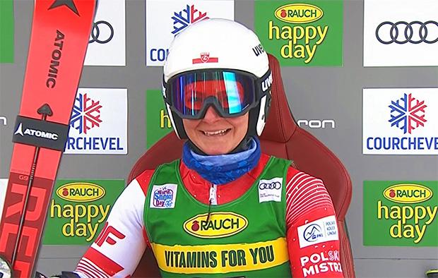 Polin Maryna Gasienica-Daniel hat noch lange nicht genug