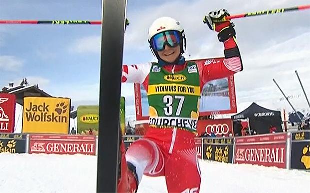 Maryna Gasienica-Daniel doppelt mit ihrem EC-Riesenslalomsieg in Hippach nach