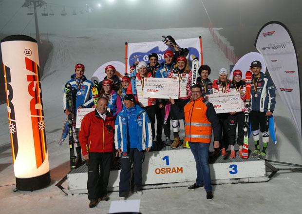 Toller Erfolg für die Chiemgauer Skifahrer: Sieg im Parallelbewerb der German Team Trophy (Bild: Helmuth Wegscheider)