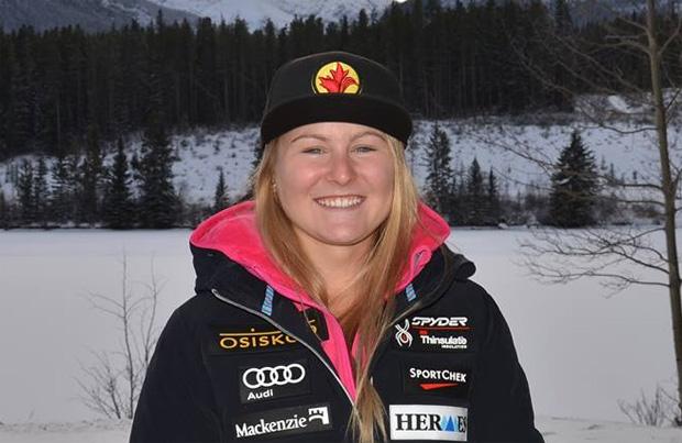 Die Junioren Abfahrts-Weltmeisterin 2016 heißt Valerie Grenier (Foto: Facebook / Valerie Grenier)