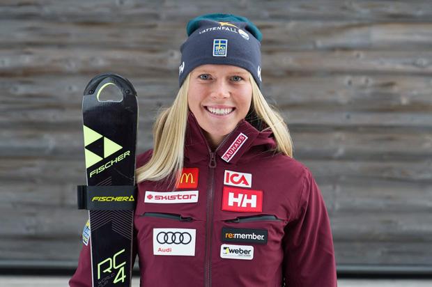Lisa Hörnblad will auch im Riesenslalom an den Start gehen. (Foto:  Lisa Hörnblad / privat)