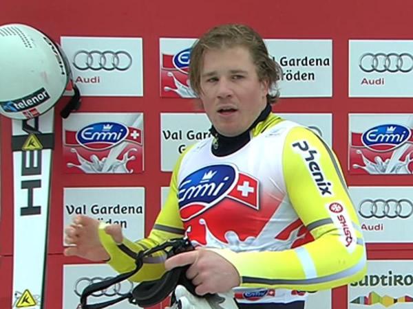 Kjetil Jansrud entscheidet auch 2. Abfahrtstraining in Kvitfjell für sich.