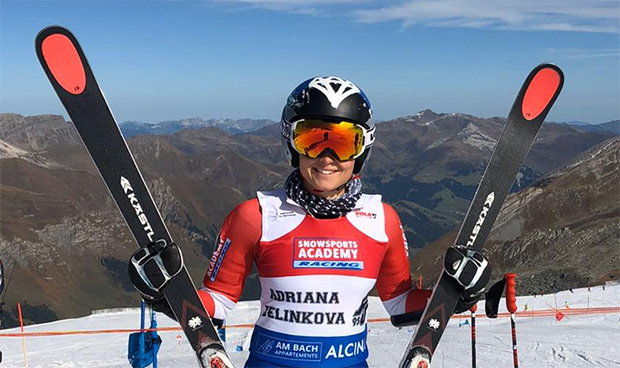"""Adriana Jelinkova: """"Komfort ist der Feind des Fortschritts!"""" (Foto: Adriana Jelinkova / privat)"""