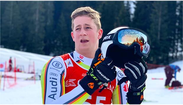 """Simon Jocher im Skiweltcup.TV-Interview: """"Der 15. Platz beim Super-G von Bormio motiviert mich sehr!"""" (Foto: © Simon Jocher / Facebook)"""