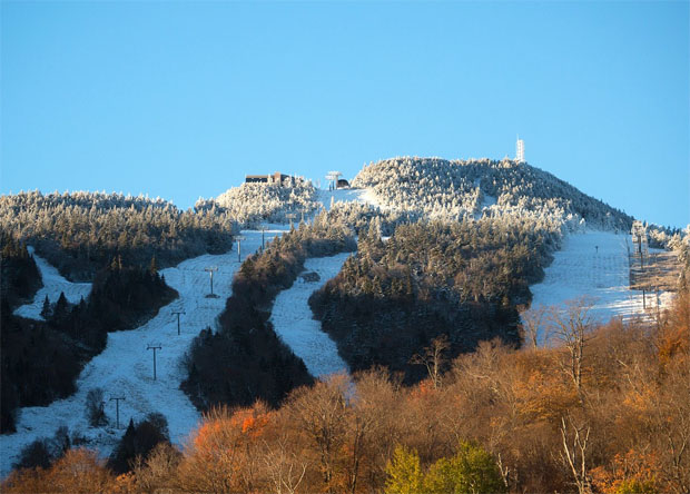 © Killington-Resort / Die Ski-Damen sind im November in Killington im Einsatz