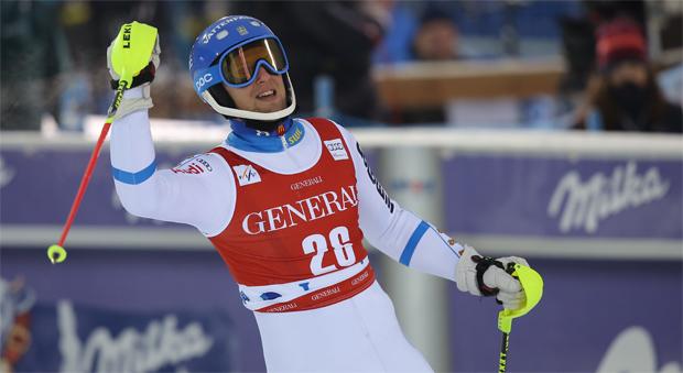 © Kraft Foods / Anton Lahdenperä will schon in Levi aufs Slalom-Podest fahren