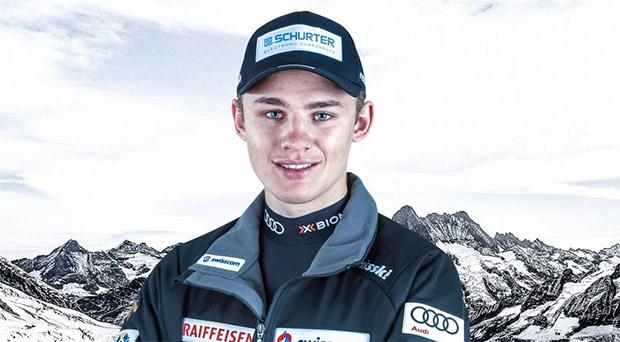 Joel Lütolf gewinnt Europacup Kombination in Zinal (Foto: © Swiss-Ski.ch)