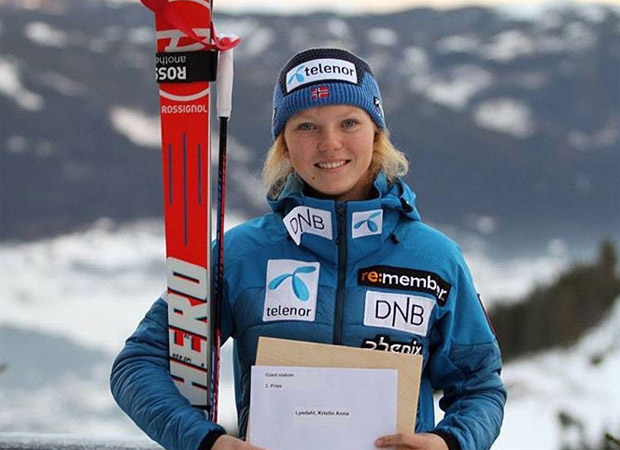 © skiforbundet.no / Kristin Lysdahl gewinnt Europacup Riesenslalom in Châtel