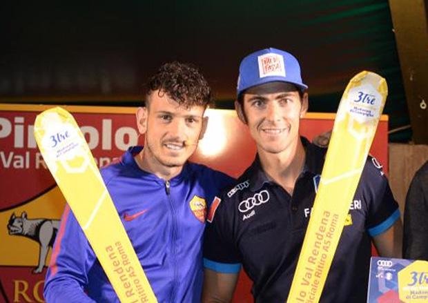 Alessandro Florenzi (AS Roma) und Stefano Gross (Foto: 3trecampiglio.it)