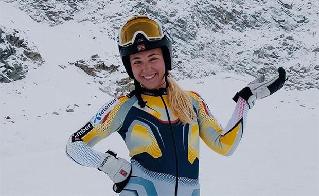 Tuva Norbye wird in für Levi ihr Ski Weltcup Debüt im Slalom geben ( Foto: © Tuva Norbye / Instagram)