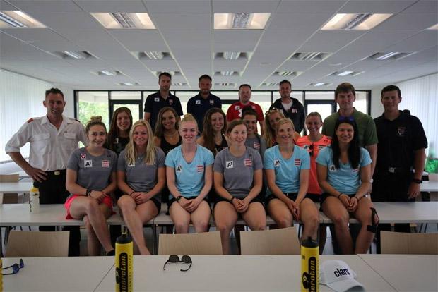 ÖSV-Damen wollen im Olympiawinter nichts anbrennen lassen (Foto: Freiwillige Feuerwehr Schwadorf)