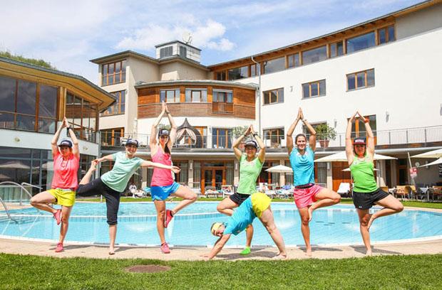 © Golf- und Thermenregion Stegersbach / Das ÖSV Damen Speedteam
