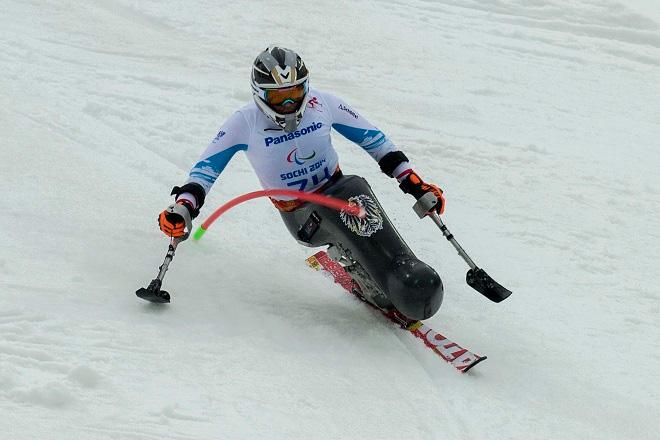 Roman Rabl kam beim Kombi-Slalom am besten zurecht.  © ÖPC/GEPA/Christopher Kelemen