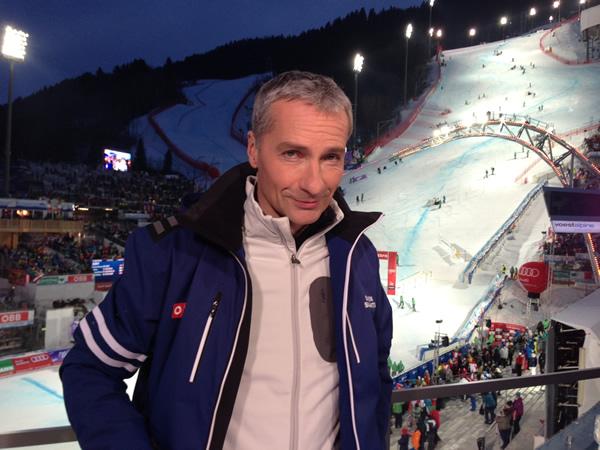 ORF Skiexperte Rainer Pariasek