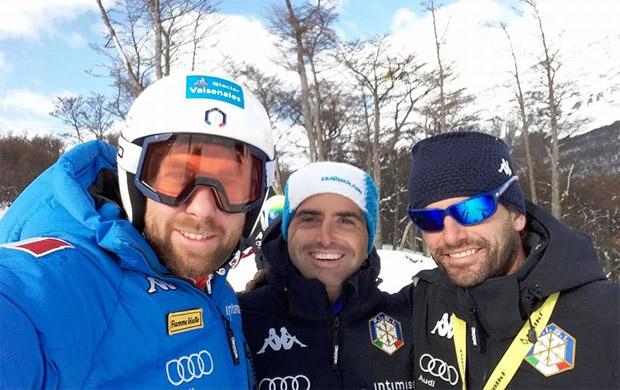 Ricardo Tonetti, Matteo Guelfi und Simone Del Dio (Foto: Facebook / Ricardo Tonetti)