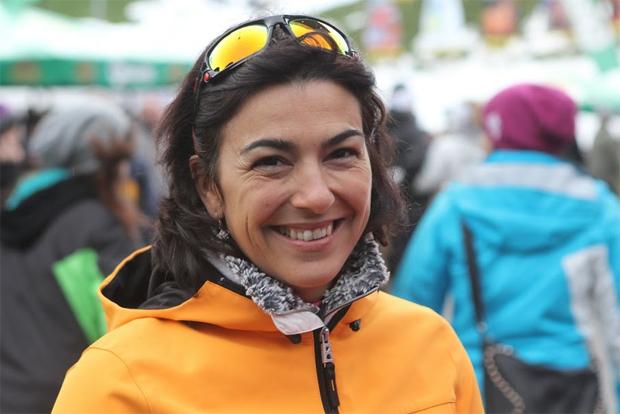 © Gerwig Löffelholz / Maria José Rienda Contreras als Gast beim Weltcupauftakt 2014 in Sölden